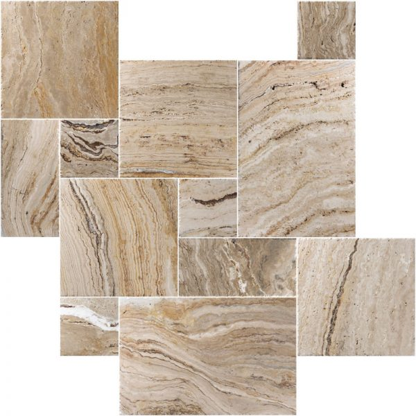 LEONARDO-FRENCH-PATTERN-BRUSHED-CHISELED-TRAVERTINE