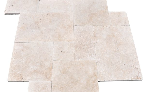 Light Select Tumbled Travertine